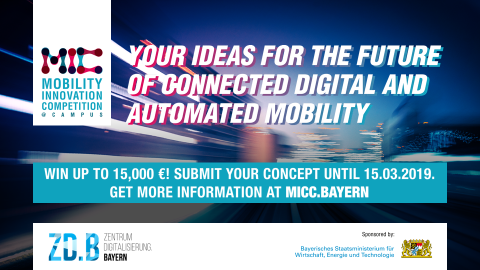 Mobility Innovation Competition Flyer