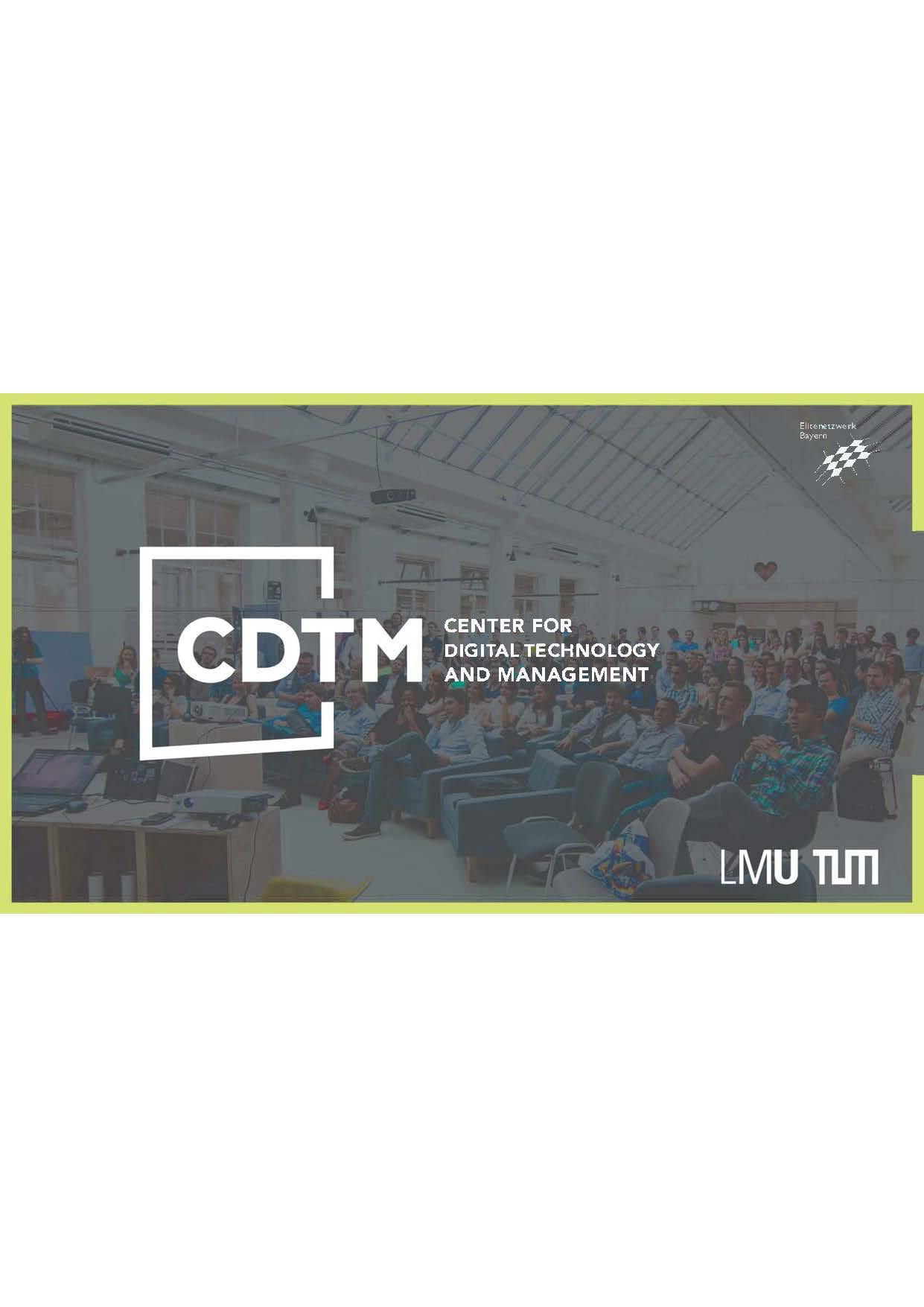 Welcome to CDTM